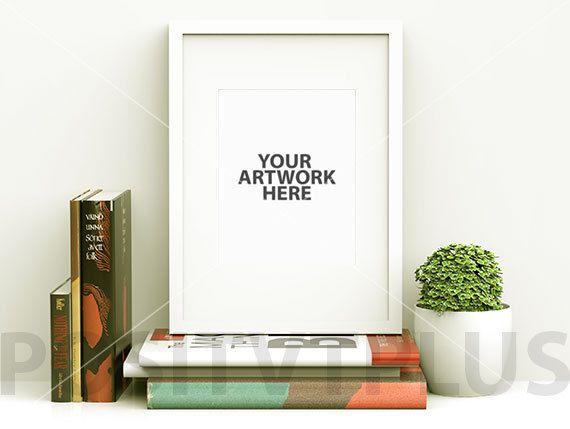 poster frame photography style white frame portrait - White Poster Frame