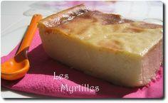 SANS GLUTEN SANS LACTOSE: Flan au four au lait d'amande sans gluten et sans lactose