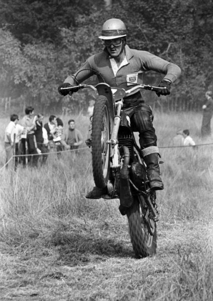 Arthur Browning as I remember him. Fast, stylish and spectacular. (Photo Copyright Brian Holder)