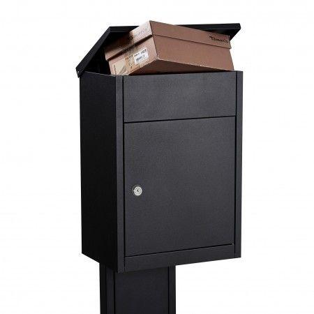 Type 500 brievenbus Allux zwart Ruko slot | Musthaves verzendt gratis
