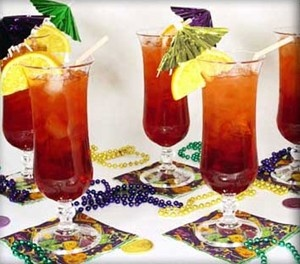Hurricane Party Ideas - getting ready