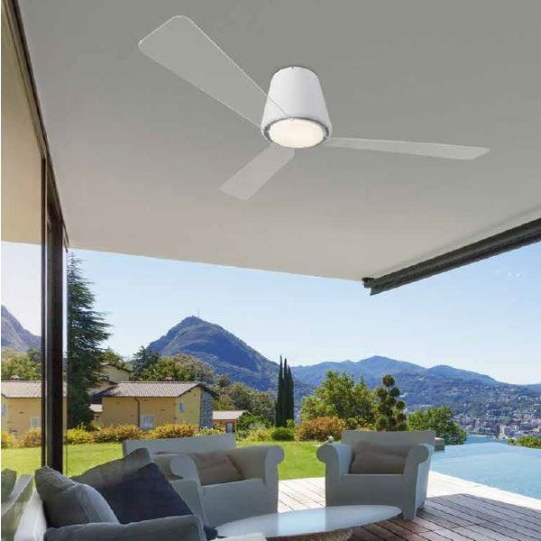 Garbì ventilatore - Leds C4 Illuminazione - Ventilatori - Progetti in Luce