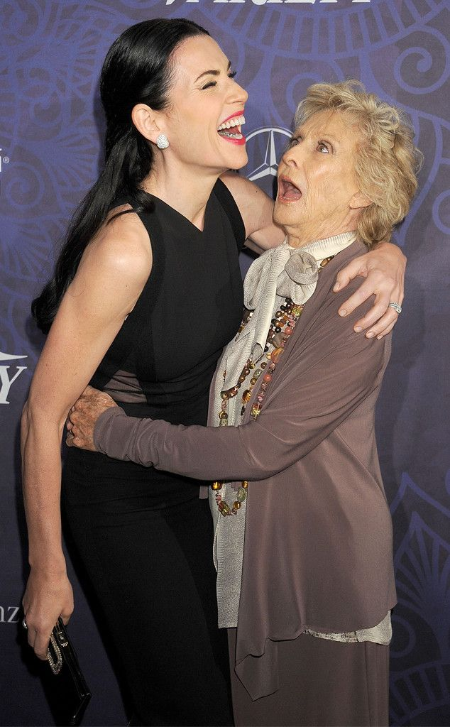 Julianna Margulies & Cloris Leachman from 2014 Emmys: Party Pics   E! Online
