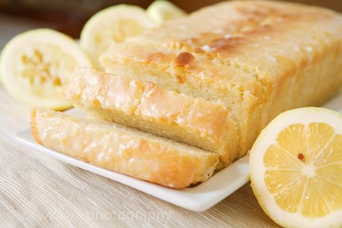 Low-Fat Lemon Yogurt Cake - This is so delicious and definitely worth it! Omitting the lemon syrup makes it nice & light for an evening treat!