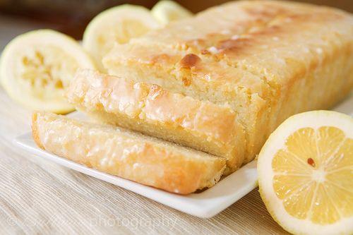 Low Fat Lemon Cake -- made with Greek Yogurt