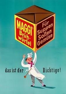 Maggi vintage poster ad  always use this stuff!!