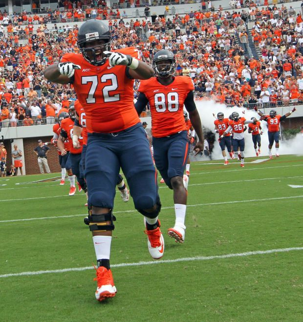 Inexperience a factor on UVa offensive line - Roanoke Times: UVa Sports News