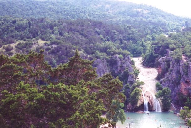 Turner Falls... Arbuckle Mountains
