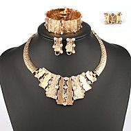 Fashion Women India Style Jewelry Set Four-Piece Suit For Ladies – USD $ 11.99