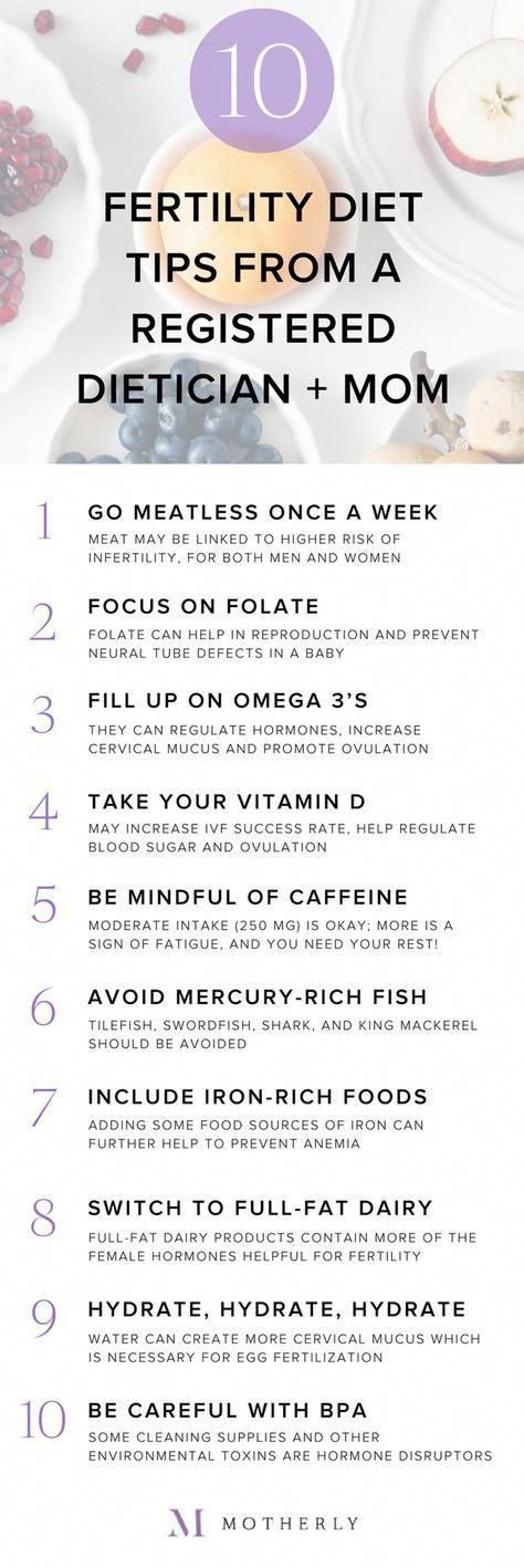 10 fertility diet tips that can help you get pregnant