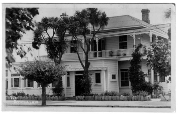 The Bungalow Boarding House in Hinemoa Street