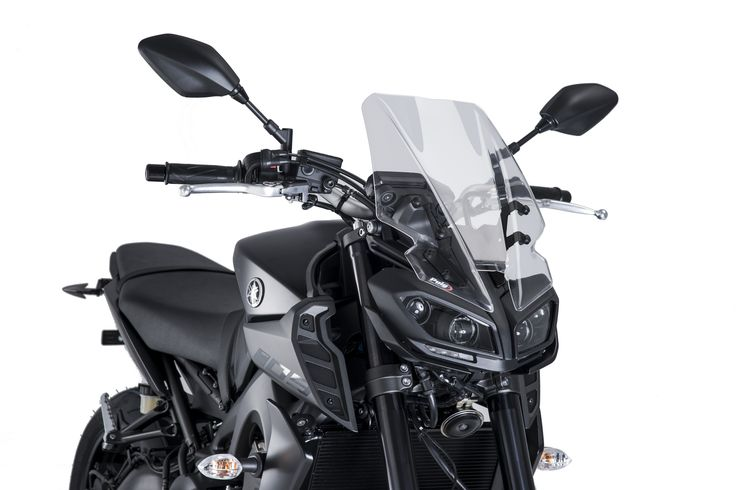 YAMAHA MT-09 /FZ09 2017 by PUIG - Touring Screen (Clear)