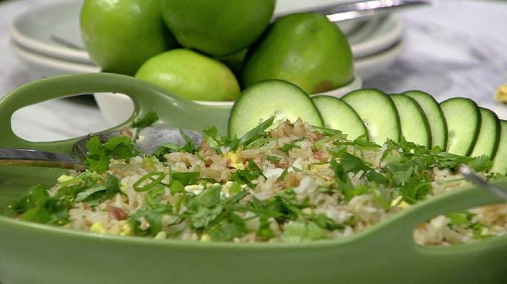 Fried Rice is not always fried rice...when it's inspired by local super-star chef, Andy Ricker! Matthew Card, Food Editor of Christopher Kimball's Milk Street, stopped by to share the recipe.For more great recipes from Christopher Kimball's Milk Street, cl