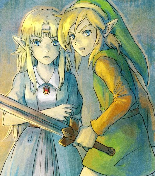 The Legend of Zelda: A Link to the Past, Link and Princess Zelda / 「ゼルダの伝説ログ」/「xi」の漫画 [pixiv] [12]