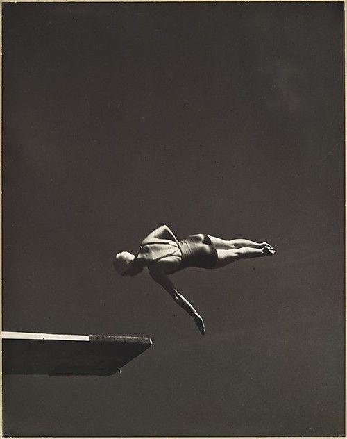 Marjorie Gestring, Olympic high-diving champion, 1936.John Gutmann