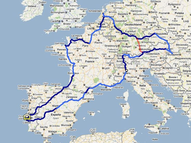 25 best Europe road trip images on Pinterest  Road trips Europe