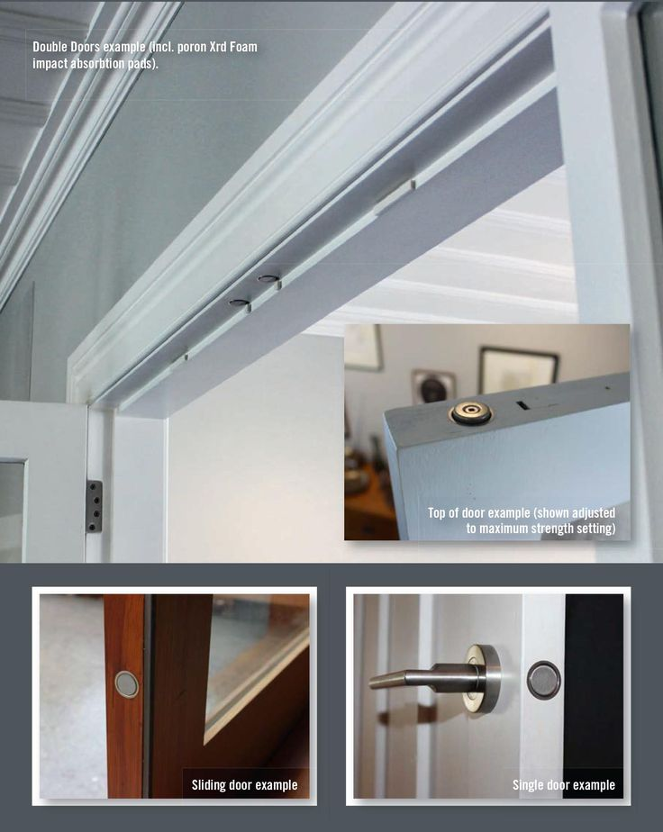 Door Magnet - rear earth flush finished magnets for replacing ball catches & 18 best Project 1- Entry/Front Door images on Pinterest | Entrance ...