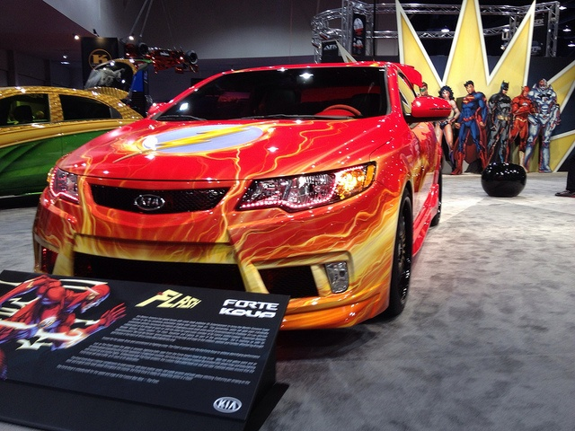 Flash Gordon car at sema. Follow the RealTruck crew at