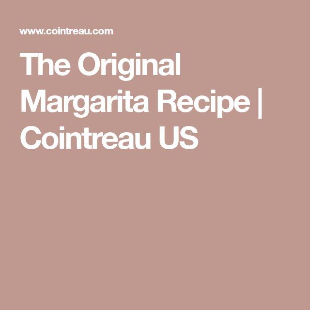 The Original Margarita Recipe | Cointreau US