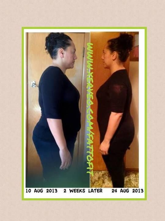 Amazing results after just 2 weeks!!  check out her website (in the photo) to find out more...or ask me how...