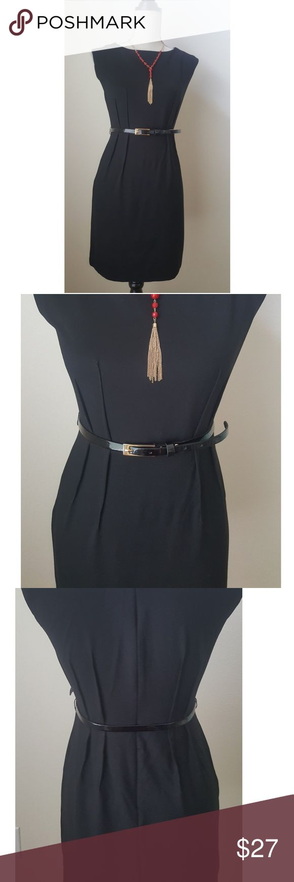 """Ann Taylor Loft  black dress Made of 65% Rayon, 31% Nylon, 4% spandex 35"""" long Beautiful cocktail dress in excellent condition  Make it yours LOFT Dresses"""
