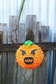 Тыква к Хелоуину из бумаги