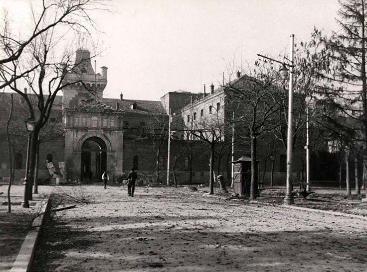 Spain - 1939. - GC - La Cárcel Modelo de Madrid, actual Cuartel General del Ejército del Aire,  quedaba situada entre Plaza de Moncloa, calle Martín de los Heros...