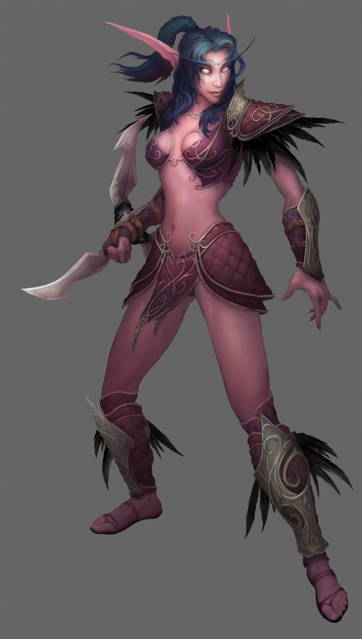 World of warcraft night elf simply magnificent