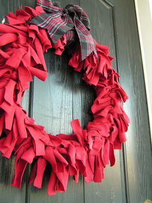 Tea Rose Home: Tutorial~Valentine's Wreath~