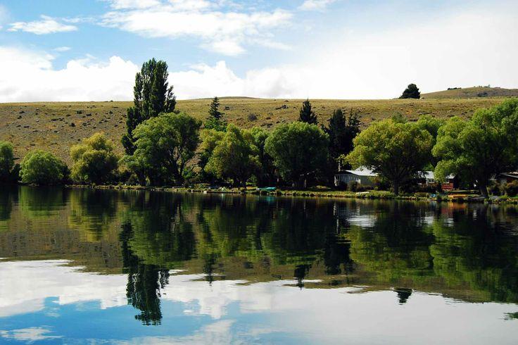 Lake Alexandrina in the South Island of New Zealand.