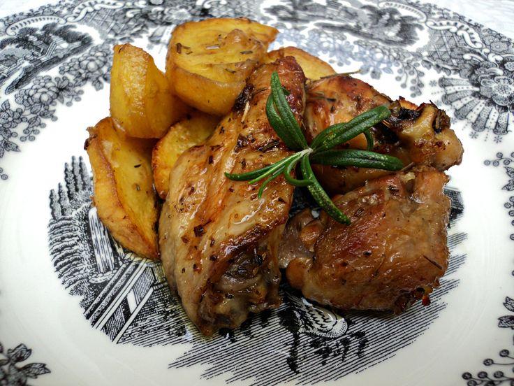 Recetas Cookeo: Pollo al ajillo