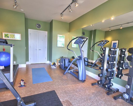 52 best new home gym images on pinterest for Basement flooring options cork