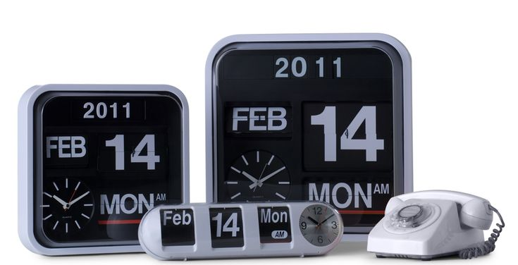 Horloges flip vintage