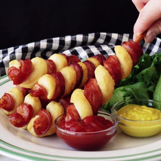 Hotdog twists