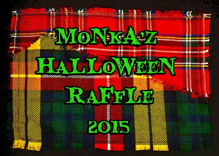 MoNkA Raffle, tickets cost £1 each.  Winner gets to choose their own design.  please follow our link  https://www.facebook.com/events/131670597185471/