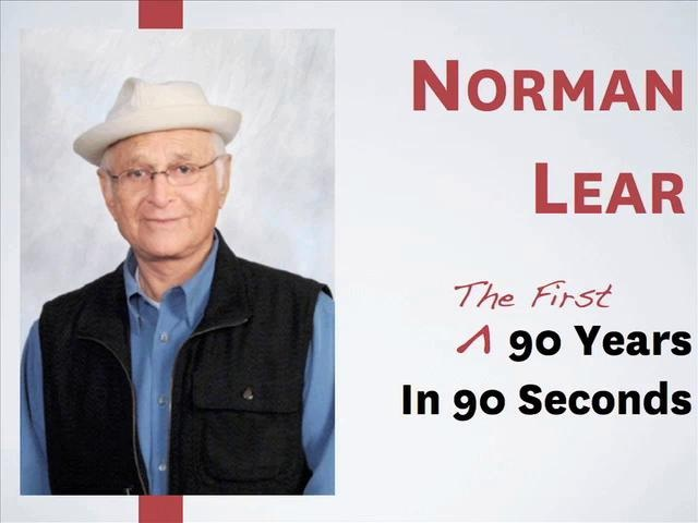 Norman Lear - 90 Years in 90 Seconds by Norman Lear Center. In celebration of Norman Lear's 90th birthday, the USC Annenberg Norman Lear Center is highlighting his exceptional life and career with a 90 second showcase.