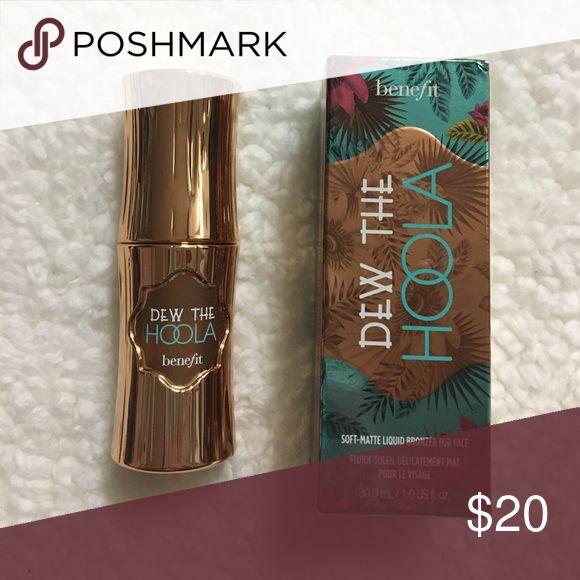 Hoola Bronzer Benefit dew the hoola liquid bronzer. New with box Benefit Makeup Bronzer