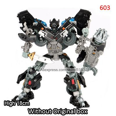 original box big cars robots action figures classic toys for boy birthday gift juguetes figuras