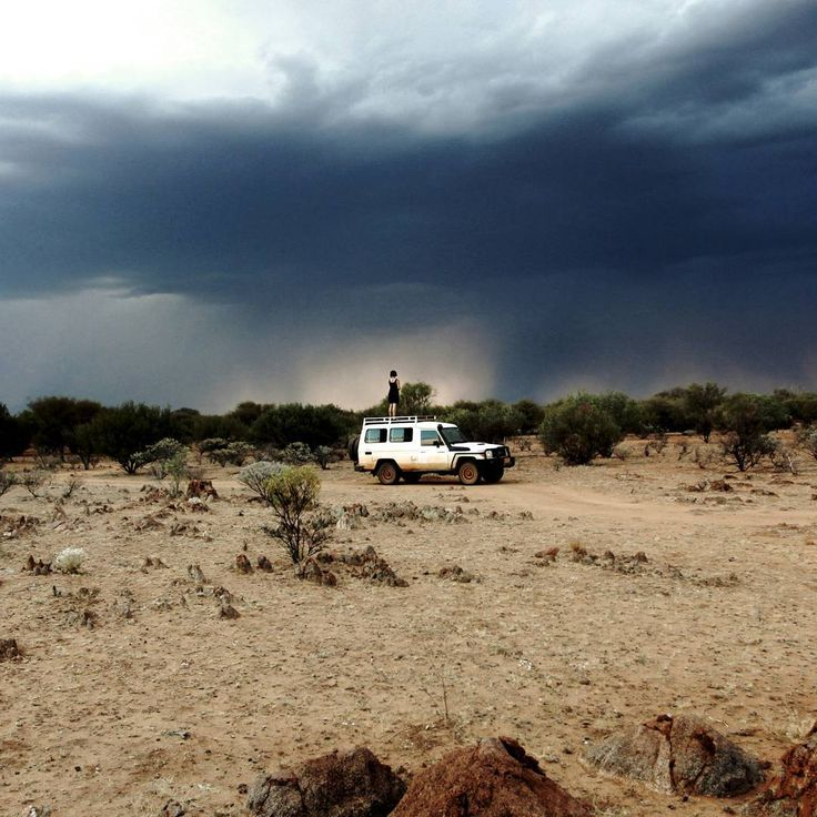 Absolute magic watching the storms roll across the Warlpiri desert. Can you…