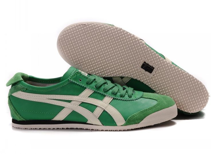 Onitsuka Tiger Mexico 66 shoes (green / beige) [TS-M4616] -
