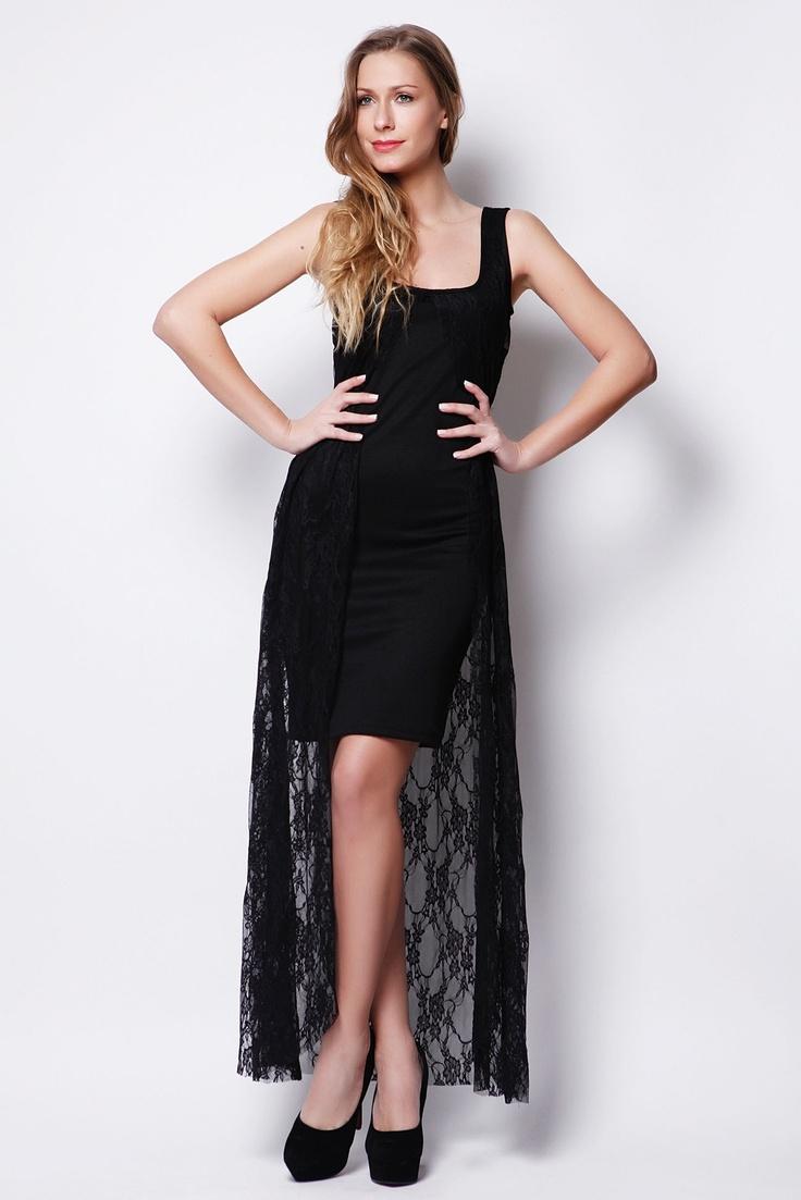 Διπλό Φόρεμα με Δαντέλα