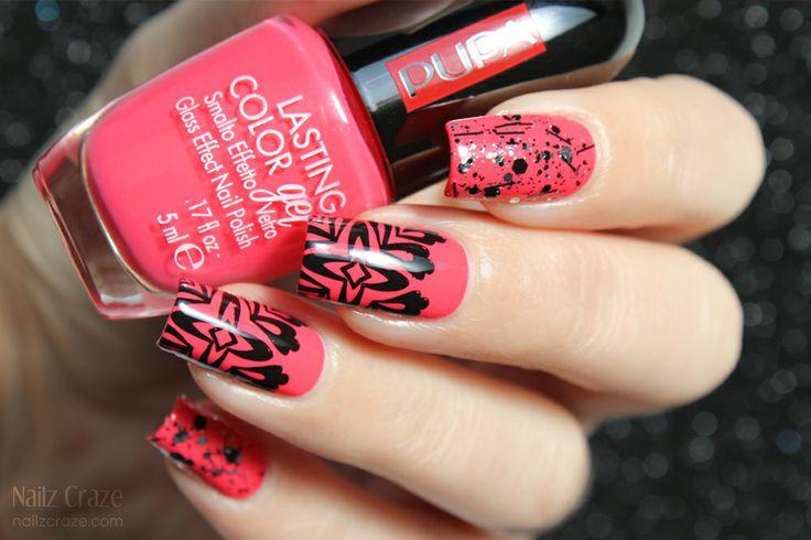 Nailz Craze: Bright  Fun nail art with PUPA