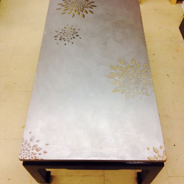 Cours de Bricolage.admt: relooking table laque chinoise