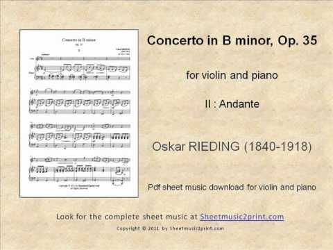 Rieding : Concerto Op. 35 2/3 www.sheetmusic2print.com/Rieding/Concerto-35-II.aspx