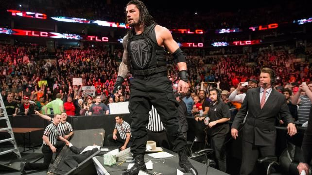 Extreme Moment of the YearWINNER: Roman Reigns levels The League of Nations and Triple H at WWE TLC OTHER NOMINEES: • Seth Rollins breaks John Cena's nose (Raw, July 27) • The Undertaker and Brock Lesnar get into a massive brawl (Raw, July 20) • Luke...