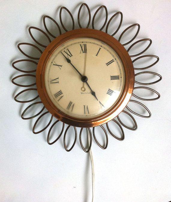 69 Best Midcentury Extras Images On Pinterest: Best 25+ Sunburst Clock Ideas On Pinterest