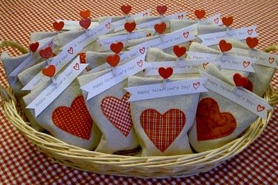 Valentines DIY Homemade Goody Bags