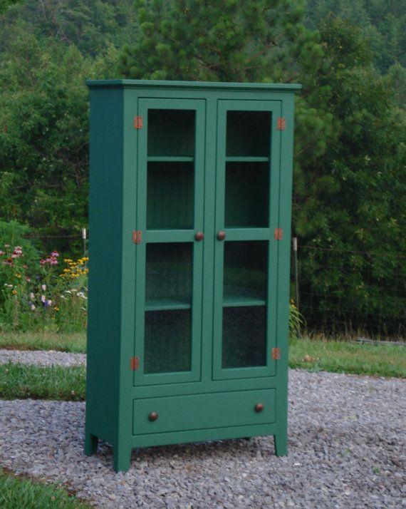 Pie Safe, Sideboard, Buffet, Etsy Furniture, Furniture on Etsy, Dining Room Storage, Kitchen Storage
