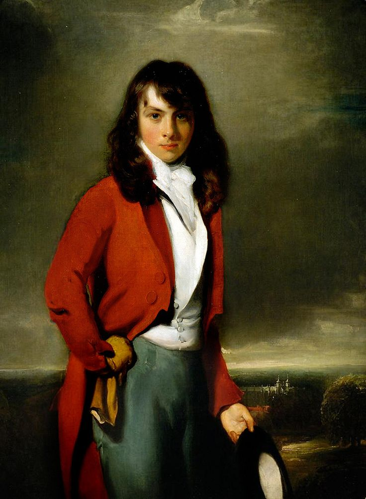 Sir Thomas Lawrence 'Portrait of Arthur Atherley as an Etonian' c. 1791  Young master Arthur Atherley posed for a portrait on t...
