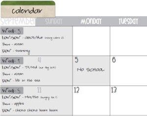 Best Teacher Calendar  Newsletter Templates Images On
